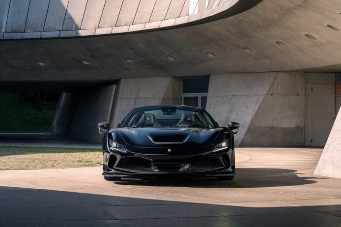 Novitec Ferrari F8 Spider, un objeto de deseo con mucha fibra de carbono