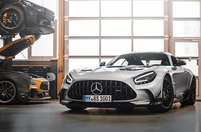 OPUS Mercedes-AMG GT Black Series, el deportivo alemán supera los 1.000 CV