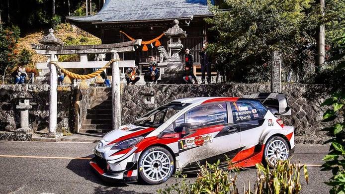 La pandemia de COVID-19 se 'carga' el Rally de Japón por segundo año