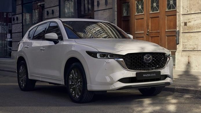 Mazda CX-5 2022, todos los precios del renovado SUV japonés
