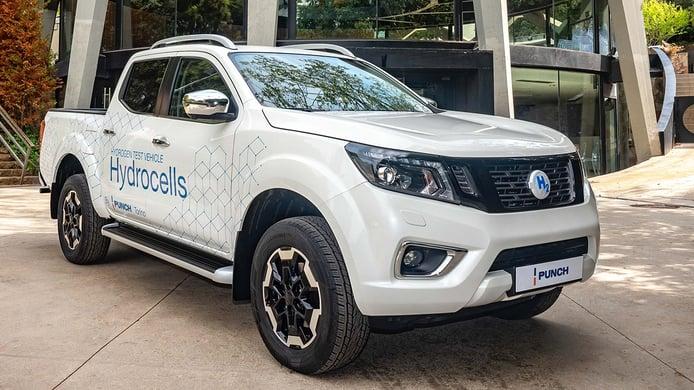 Punch transforma al Nissan Navara en un pick-up propulsado por «hidrógeno caliente»