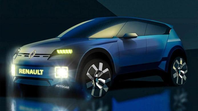 El Renault 4ever, un nuevo crossover urbano eléctrico, llegará en 2025