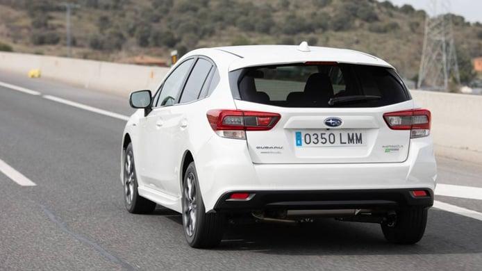 Subaru Impreza EcoHybrid - posterior