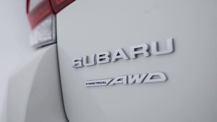 Tracción a las cuatro ruedas Symmetrical AWD de Subaru