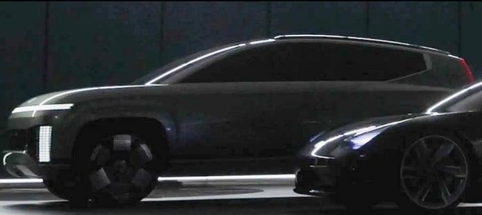 Nuevo adelanto del futuro Hyundai IONIQ 7 revela un paso adelante en su diseño