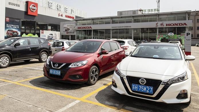 China - Agosto 2021: Las ventas de coches no mejoran