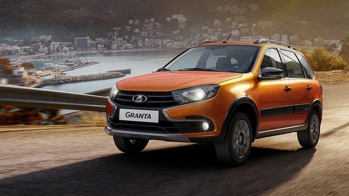 Rusia - Agosto 2021: El Lada Granta deja de ser el coche más vendido