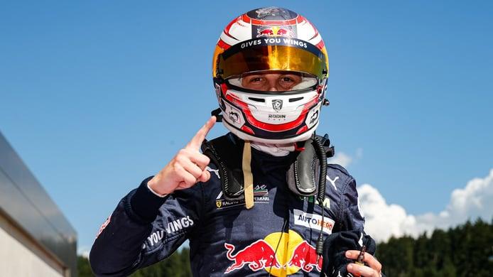 Victoria de Liam Lawson en la primera carrera del DTM en Red Bull Ring