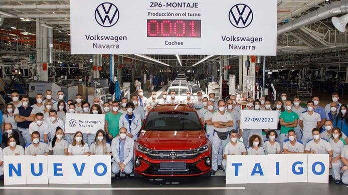 La producción del nuevo Volkswagen Taigo está en marcha, un SUV «Made in Spain»
