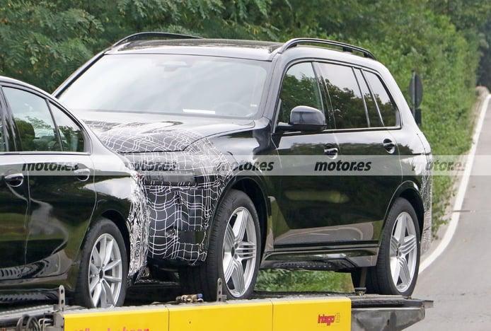 Primeras fotos espía del Alpina XB7 Facelift 2023, el SUV deportivo renueva imagen
