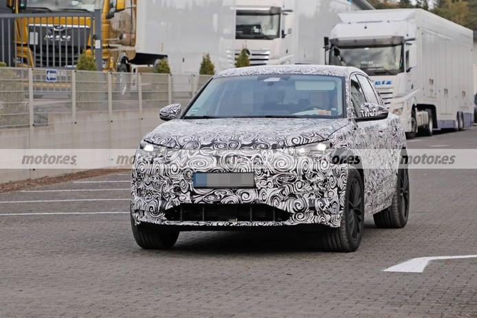 El nuevo Audi Q6 e-tron 2023 vuelve a posar en fotos espía revelando detalles