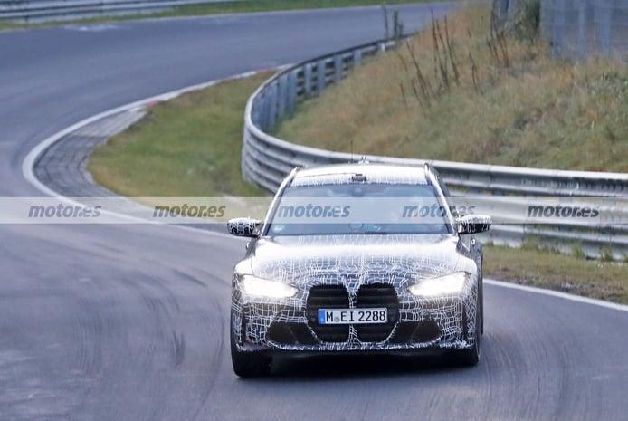 El nuevo BMW M3 Touring 2023 pone al límite los frenos en unas pruebas en Nürburgring