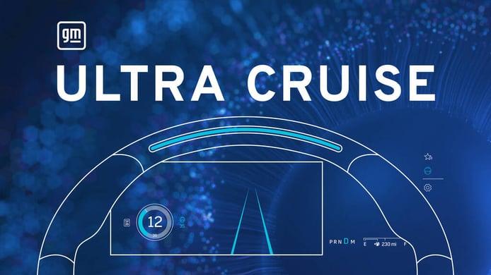 General Motors presenta Ultra Cruise, para circular por ciudad casi sin tocar el volante