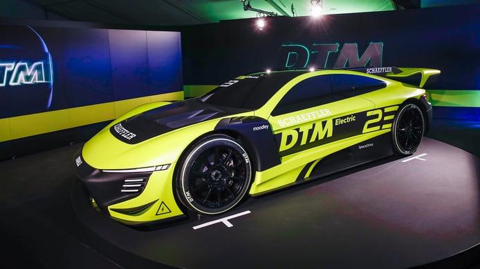 ITR, Schaeffler y MAHLE presentan el vehículo del DTM Electric