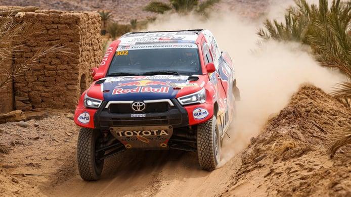 Nasser Al-Attiyah y Pablo Quintanilla ganan el Rally de Marruecos 2021