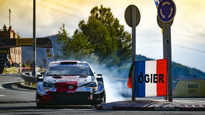 Sébastien Ogier marca el mejor registro del shakedown del Rally RACC