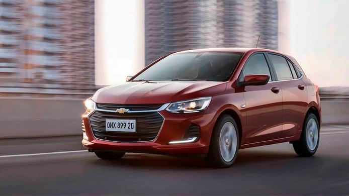Brasil - Septiembre 2021: El Chevrolet Onix recupera posiciones