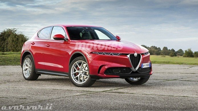 Recreación del Alfa Romeo Tonale