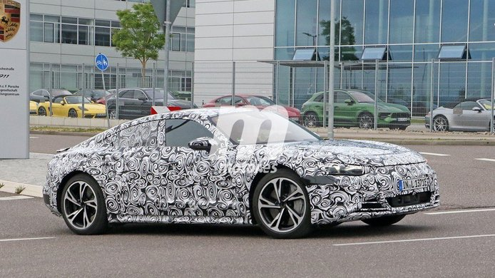 Audi e-tron GT - foto espía