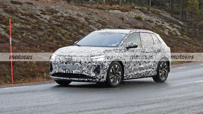 Audi Q4 e-tron - foto espía