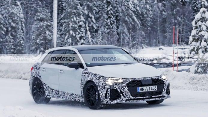 Audi RS 3 Sportback 2021 - foto espía