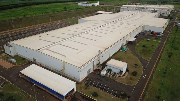 Fábrica de Mercedes en Iracemápolis, Brasil