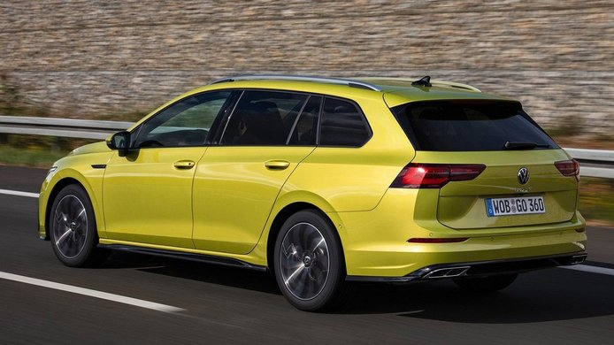 Volkswagen Golf Variant 2021 - posterior