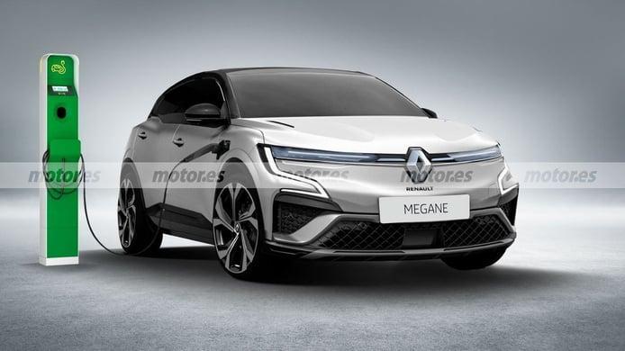 Recreación del Renault Mégane eVision