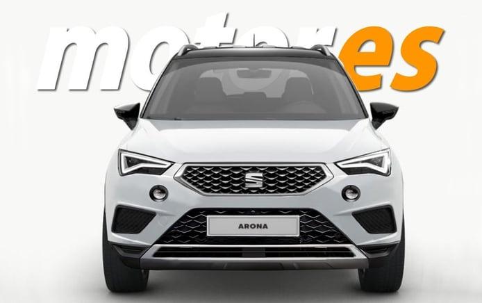 Recreación del SEAT Arona 2021