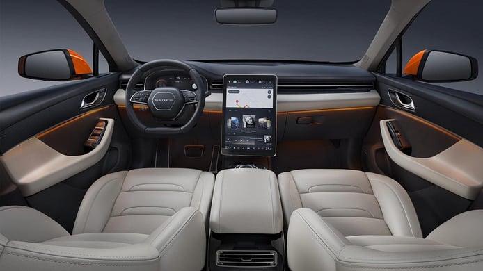 Seres SF5 - interior