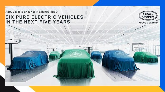 Land Rover lanzará 6 coches eléctricos en media década