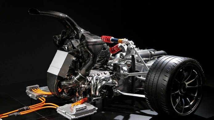 Foto Mercedes-AMG Project ONE - técnica