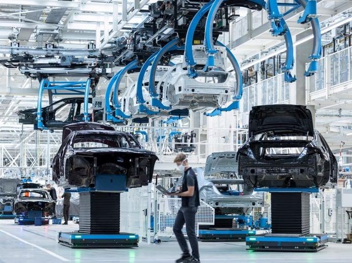 Foto Mercedes Factory 56 en la planta de Sindelfingen