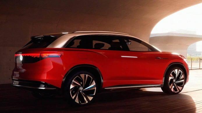 Volkswagen ID. Roomzz, el concept del SUV eléctrico de 7 plazas