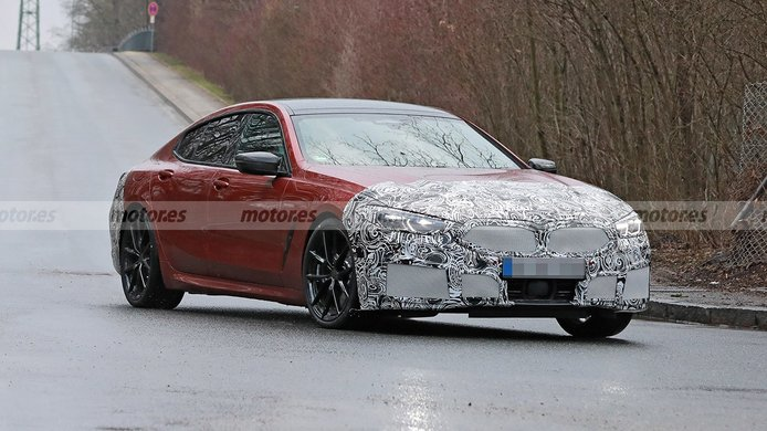 BMW Serie 8 Gran Coupé 2023 - foto espía