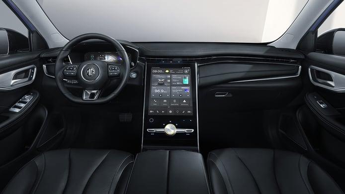 MG Marvel R Electric - interior