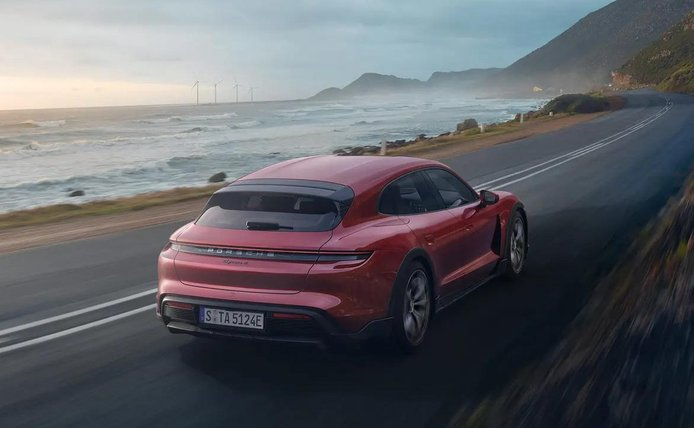 Foto Porsche Taycan Cross Turismo - exterior