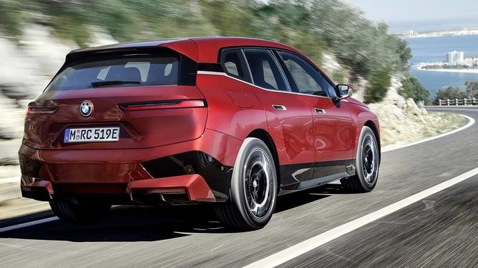 BMW iX - posterior