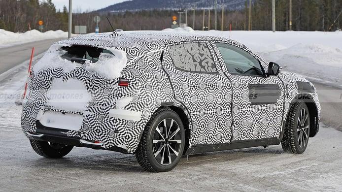 Renault Mégane E-Tech Electric - foto espía posterior