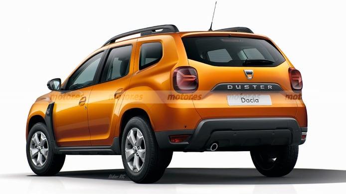 Dacia Duster 2021 - posterior
