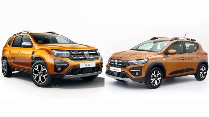 Dacia Duster 2021 vs Dacia Sandero 2021