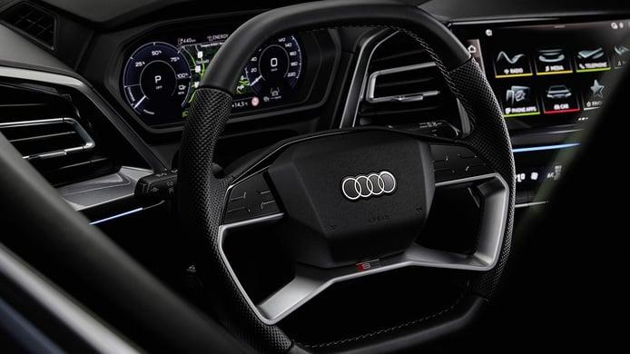Audi Q4 e-tron - interior