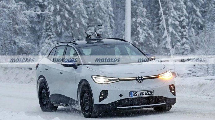 Volkswagen ID.4 GTX - foto espía