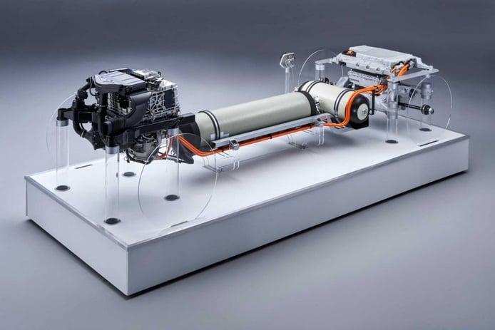 Foto BMW i Hydrogen NEXT concept - Técnica