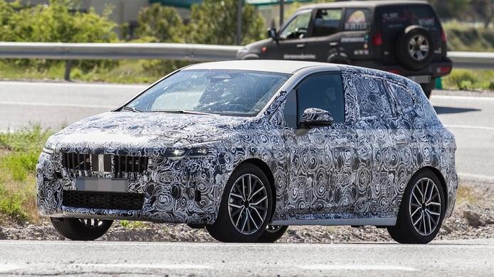 BMW Serie 2 Active Tourer 2022 - foto espía