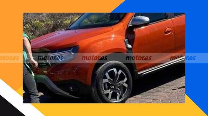 Dacia Duster 2021 - foto espía
