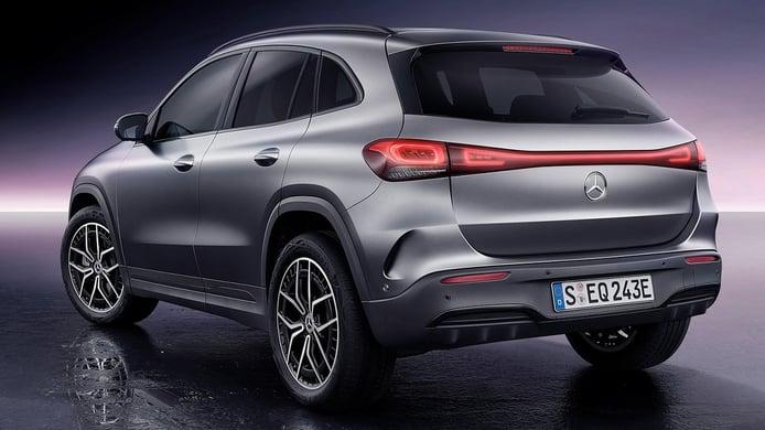 Mercedes EQA - posterior