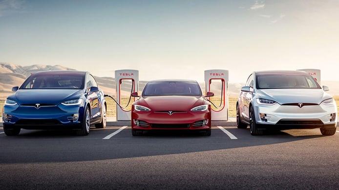 Supercargadores de Tesla