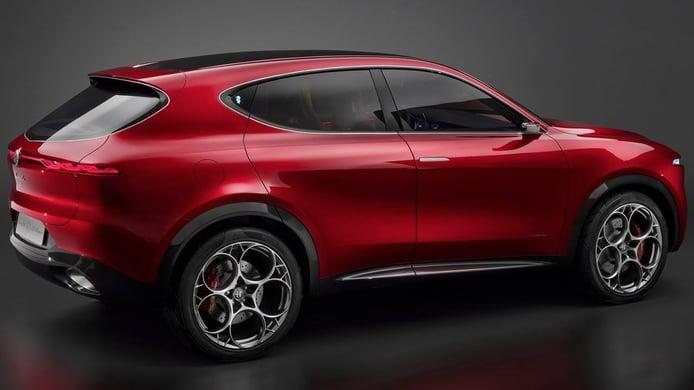 Alfa Romeo Tonale Concept - posterior