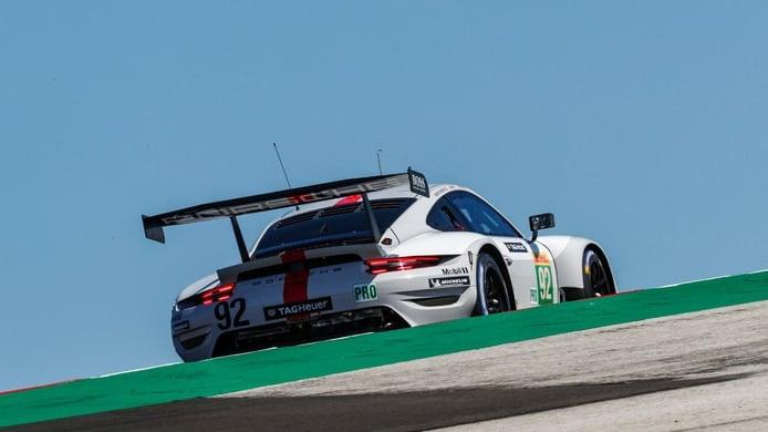 El Alpine #36 supera a los Toyota para lograr la pole en Portimao
